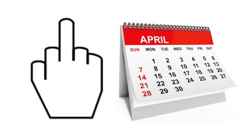 Top 10 Reasons April Is the WORST Month
