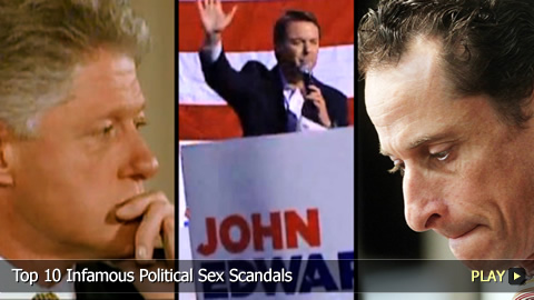 Top 10 Infamous Political Sex Scandals in the USA