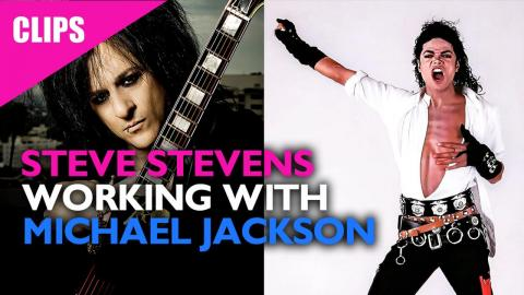 Steve Stevens Working with Michael Jackson on Dirty Diana