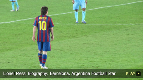 Lionel Messi Biography: Barcelona, Argentina Football Star