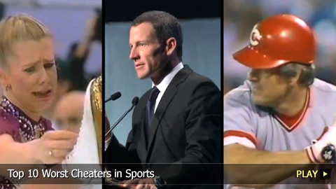Top 10 Worst Cheaters in Sports
