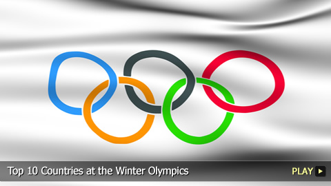 Top 10 Countries at the Winter Olympics