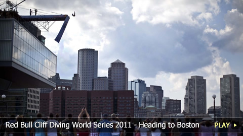 Red Bull Cliff Diving World Series 2011 - Heading to Boston