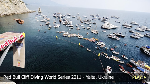 Red Bull Cliff Diving World Series 2011 - The Grand Finale in Yalta, Ukraine