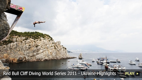 Red Bull Cliff Diving World Series 2011 - Grand Finale Highlights in Ukraine