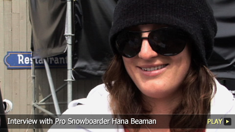 Interview with Pro Snowboarder Hana Beaman