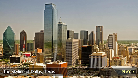 The Skyline of Dallas, Texas