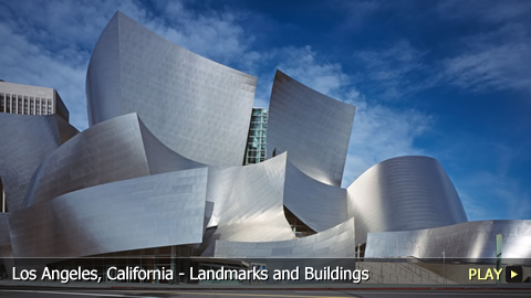 Los Angeles, California - Landmarks and Buildings
