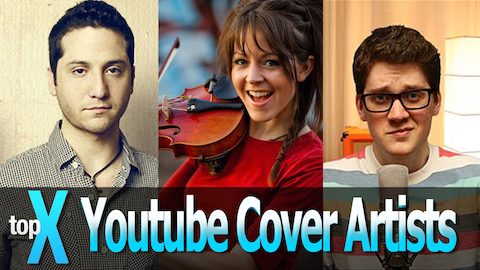 Top 10 YouTube Cover Artists - TopX Ep.7