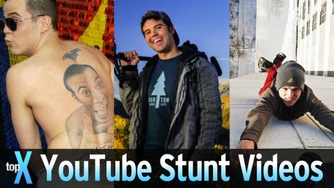 Top 10 YouTube Stunt Videos - TopX Ep.42