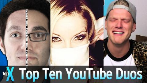 Top 10 YouTube Duos - TopX Ep.50
