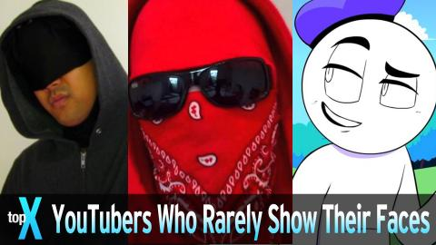 Top 10 YouTubers Who Rarely Show Their Faces