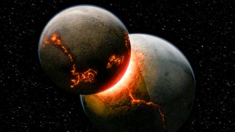 What If Earth Crashed Into Another Planet?