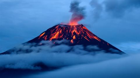 What If Every Volcano Erupted At the Same Time?