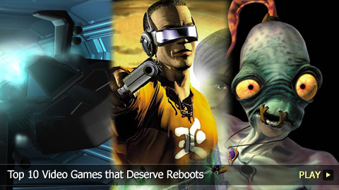 Top 10 Video Games that Deserve Reboots