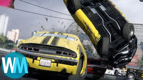 Top 10 Games With The Best Car Crashes!
