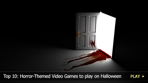 Top 10: Horror-Themed Video Games to play on Halloween