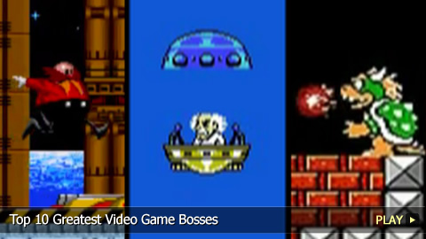 Top 10 Greatest Video Game Bosses