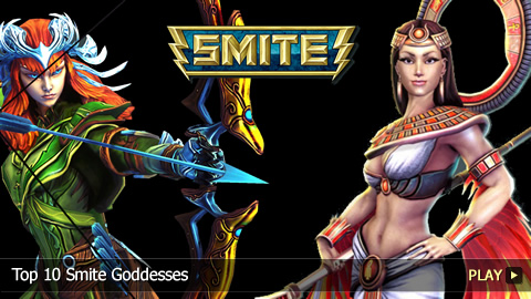 Top 10 Greatest Smite Goddesses