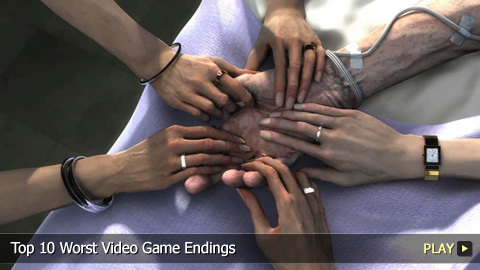 Top 10 Worst Video Game Endings