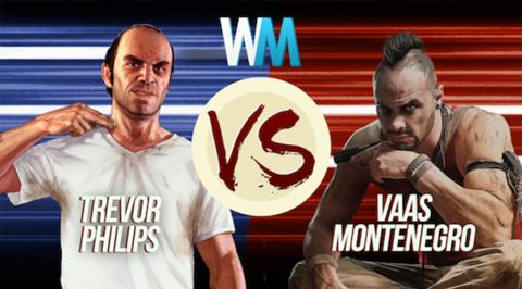 Trevor Philips Vs Vaas Montenegro