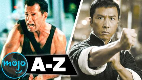 The Best Action Movies of All Time from A to Z