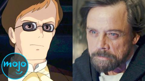 Top 10 Actors You Didn't Know Were in Anime Films