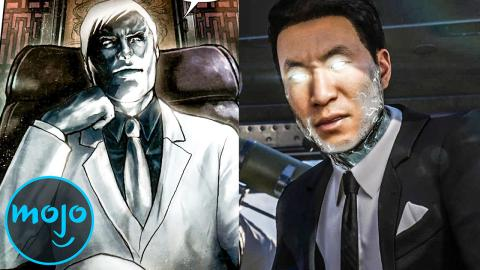 Supervillain Origins: Mister Negative