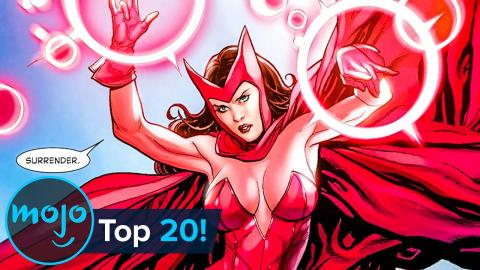 Top 20 Most Powerful Comic Book Characters Ever