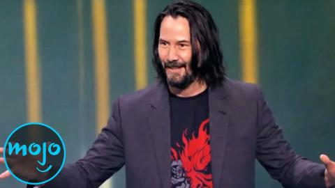 10 Times Keanu Reeves BROKE the Internet