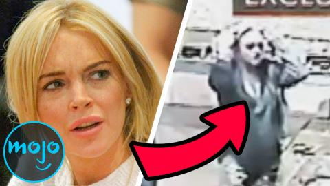 Top 10 Celebs Caught Breaking the Law on Camera