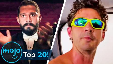 Top 20 Ridiculous Shia LaBeouf Moments