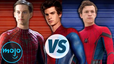 Tobey Maguire vs Andrew Garfield vs Tom Holland as Spider-Man