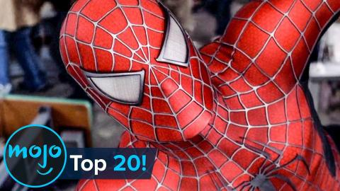 Top 20 Greatest Comic Book Movies EVER