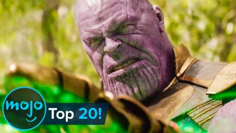 Top 20 Most Rewatched Scenes in Superhero Movies