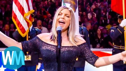 Another Top 10 National Anthem Fails