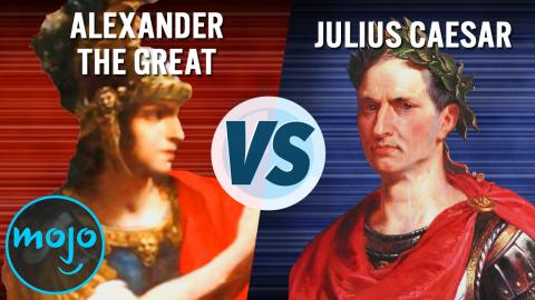 Alexander the Great vs. Julius Caesar