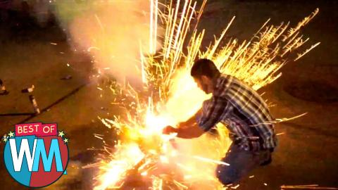 Top 10 Crazy Fireworks Fails - Best of WatchMojo