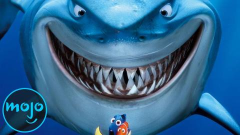 Top 10 Famous Fictional Sharks | SHARK WEEK