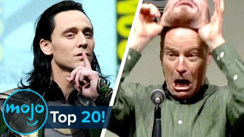 Top 20 Comic-Con Surprises of All Time