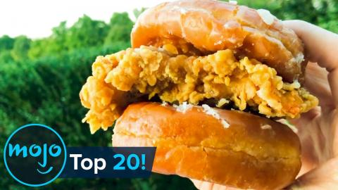 Top 20 Craziest Fast Food Menu Items of the Last Decade