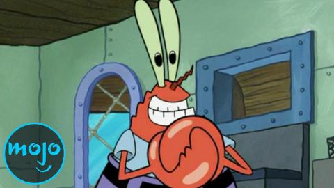 Top 10 Reasons Mr. Krabs Should Be Arrested