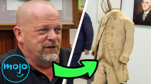 Top 10 Shocking Pawn Stars Discoveries
