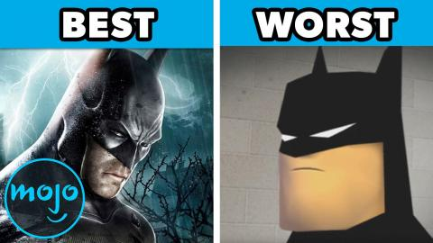 Top 10 Best and Worst Batman Games
