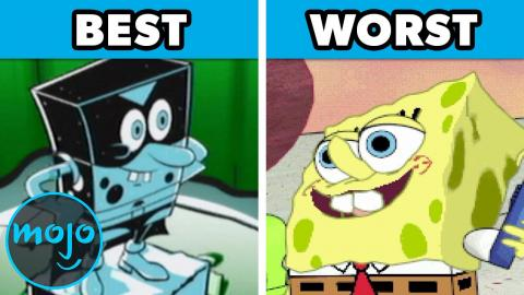 Top 10 Best and Worst SpongeBob Video Games