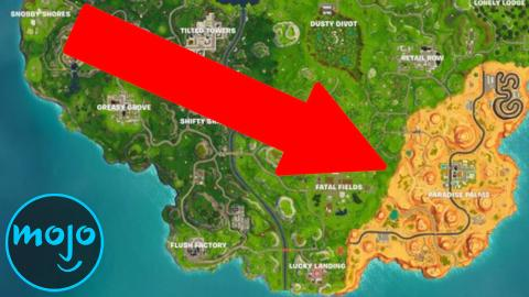Top 10 Biggest Fortnite Map Changes