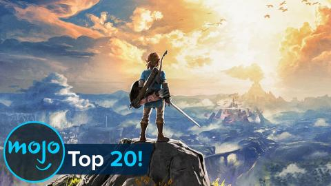 Top 20 Open World Video Games of All Time