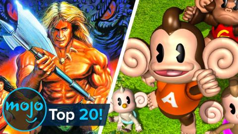 Top 20 Greatest SEGA Games of All Time