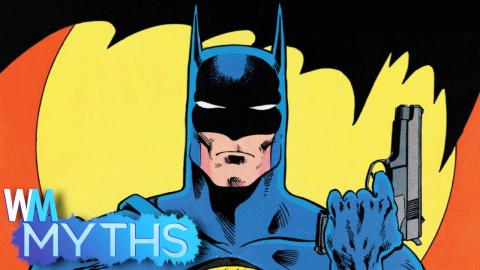 Top 5 Myths About Batman