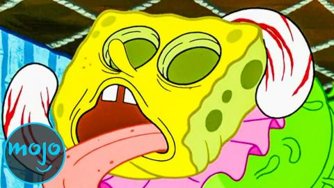 Top 10 Times SpongeBob Fuelled Our Nightmares